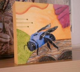 Bee mounted
