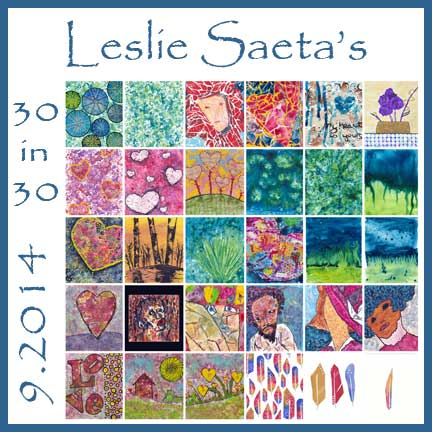 Leslie Saeta 9 2014 30 Paintings In 30 Days