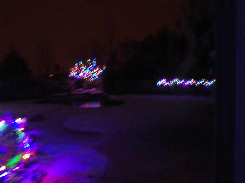 snow in wildomar