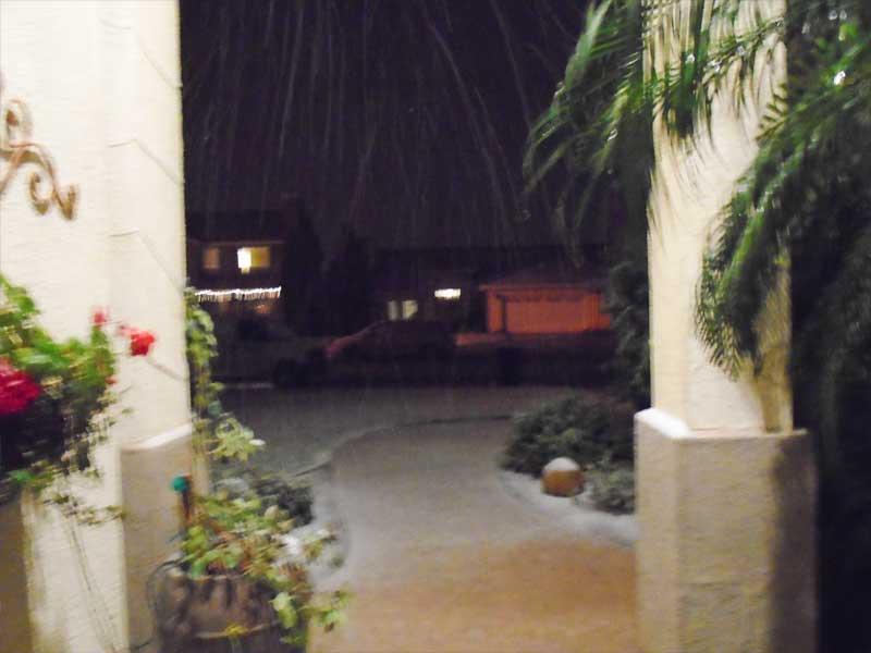 snow in wildomar ca