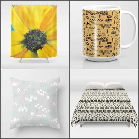 New patterns on society6 sheila 39 s corner studio for Society 6 promo code