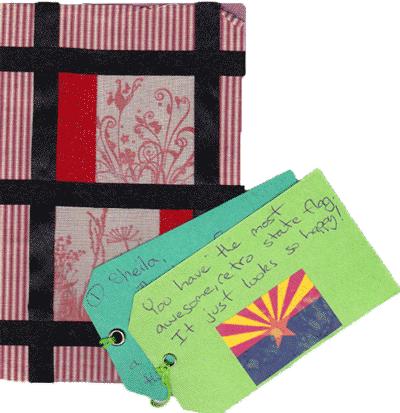 Global heART Swap Postcard #3. Sonya Robinson.