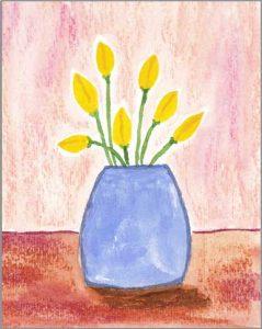 #21 WWM. 4 x 5.5 in. watercolor on Strathmore 140 lb. cold pressed paper. © 2018 Sheila Delgado.