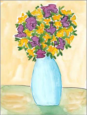 #29 WWM. 5 x 8 in. watercolor on Strathmore 140 lb. cold pressed paper. © 2018 Sheila Delgado.
