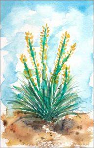 #6 WWM. 5.5 x 8 in. watercolor on Strathmore 140 lb. cold pressed paper. © 2018 Sheila Delgado.