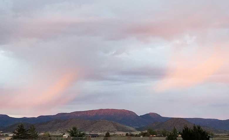 Soft Mingus Sunset. 4 23-19, SMD.